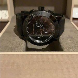 Men's Burberry watch.